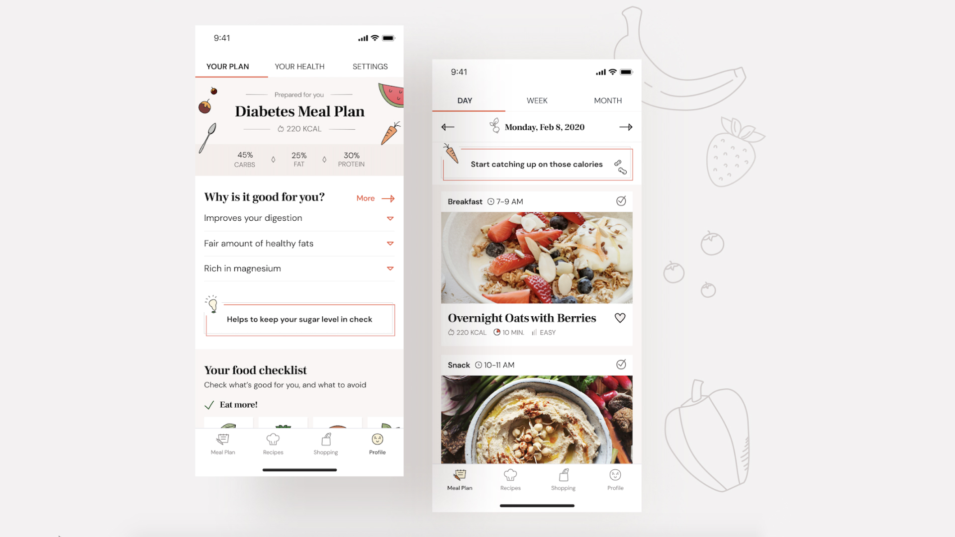 Healthy Meal App Concept: a Case Study That Proves UX is Just Like Cooking