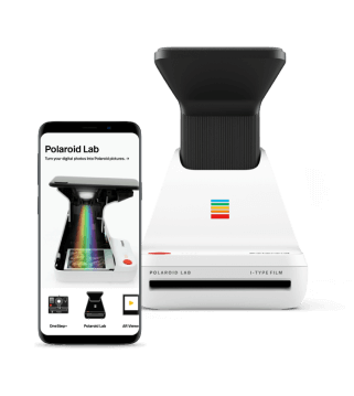 AR-POWERED MOBILE APP<br>for Polaroid